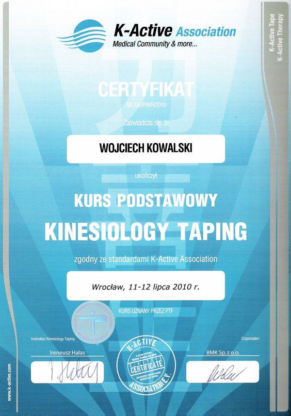 certyfikat-kinesiotaping