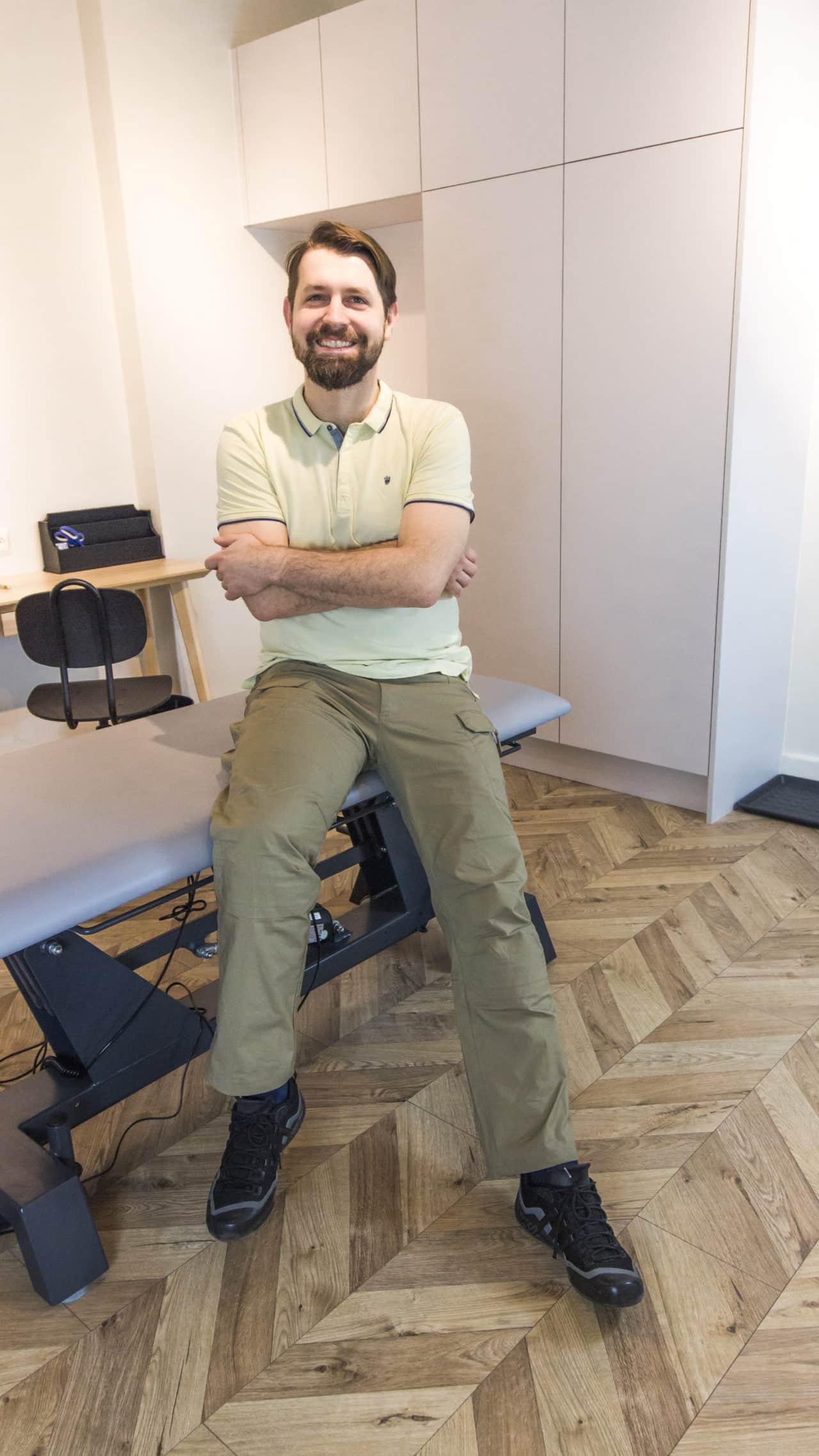 Fizjoterapeuta Wojciech Kowalski
